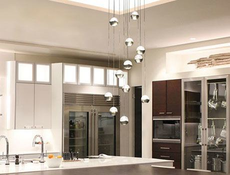 lighting above kitchen island. genesis 12 light mirrored canopy pendant from wac lighting above kitchen island a