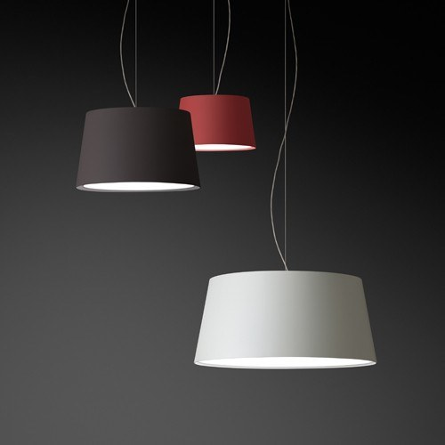 lighting in a home office warm 4926 pendant from vibia