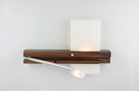 Levo LED Bedside Sconce and Reading Light from Cerno