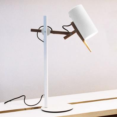 Scantling table lamp from Marset