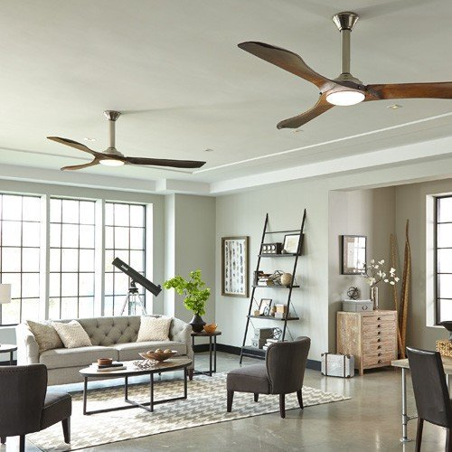 Minimalist Max Ceiling Fan from Monte Carlo Fan Company | YLighting