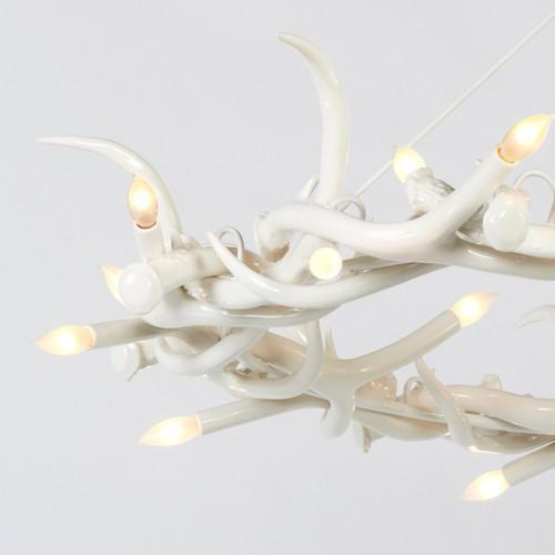 Superordinate Antler Chandelier - 27 Antler Ring from Rock and Hill | YLighting