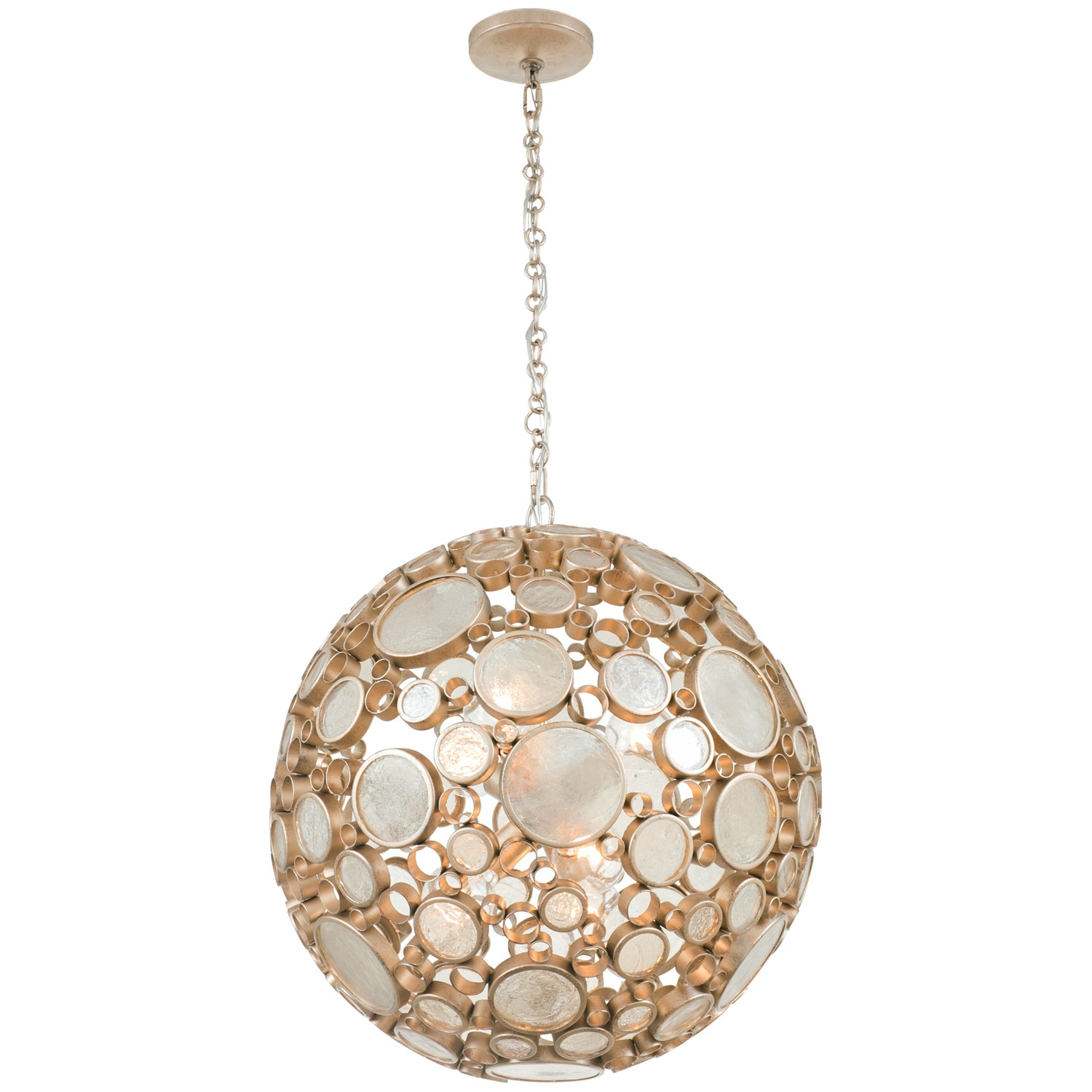 Upcycled Modern Lighting | YLighting Fascination 6 Light Orb Pendant ...  sc 1 st  YLighting & Upcycled Modern Lighting | Design Necessities Lighting azcodes.com