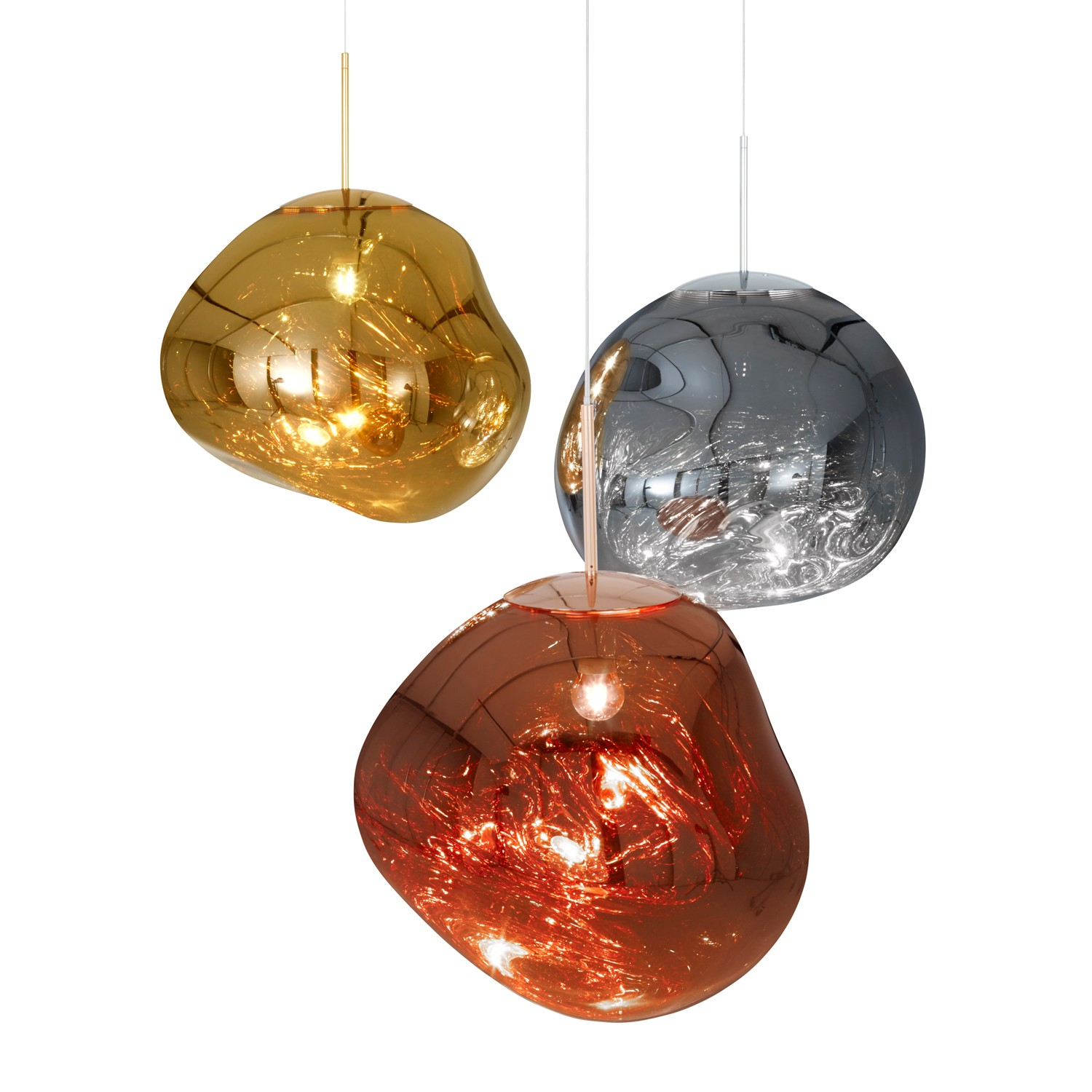 glass blown pendant lighting. modern glass blown pendants melt pendant light from tom dixonylighting lighting t