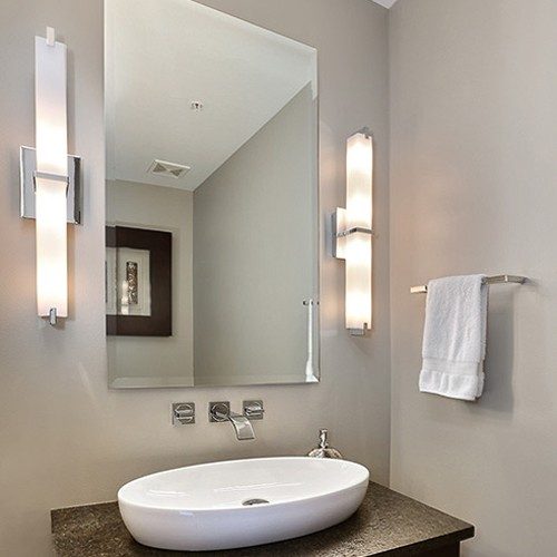 modern bathroom lighting ylighting - Bathroom Vanity Lighting