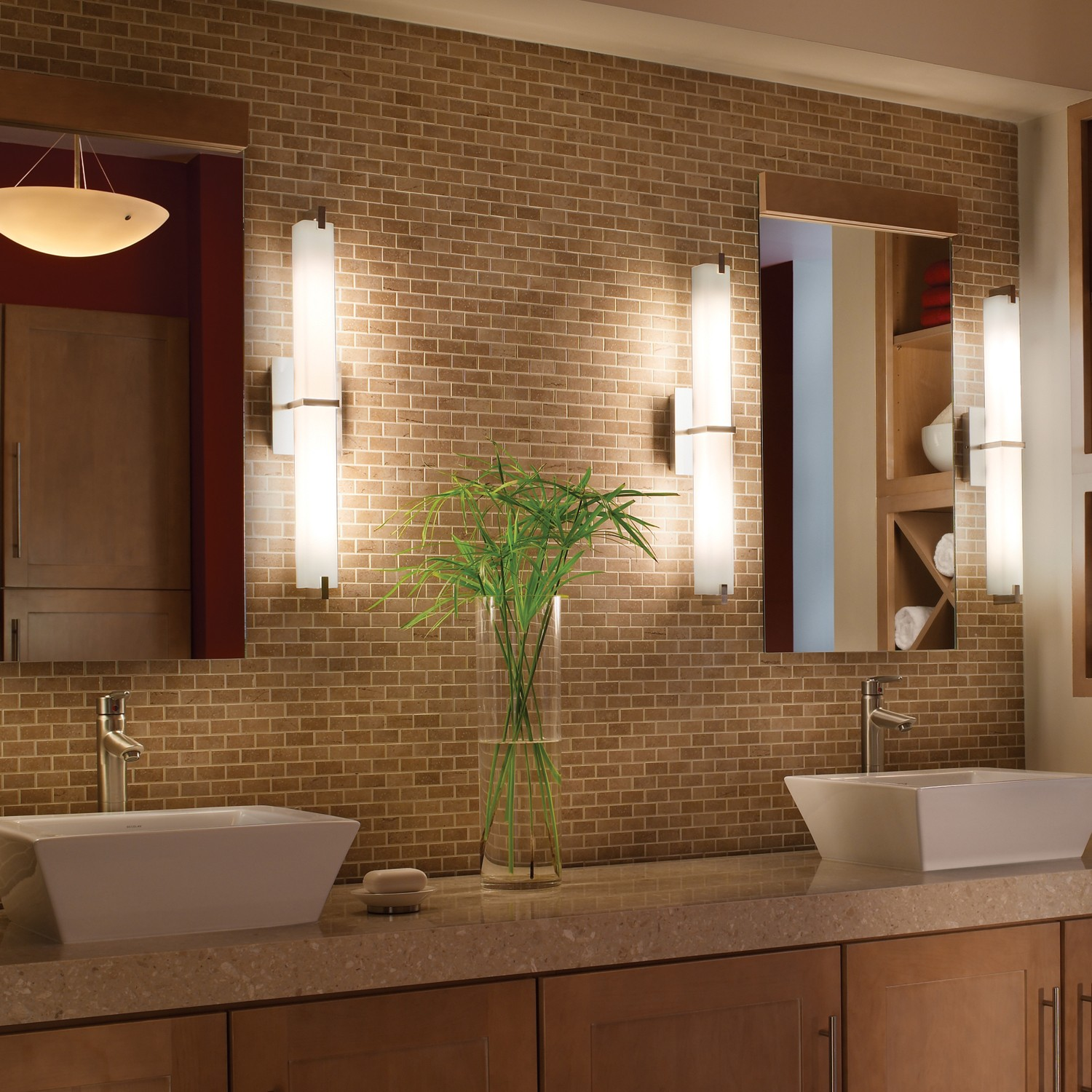 Bathroom Lights Side Of Mirror how to light a bathroom vanity | design necessities lighting