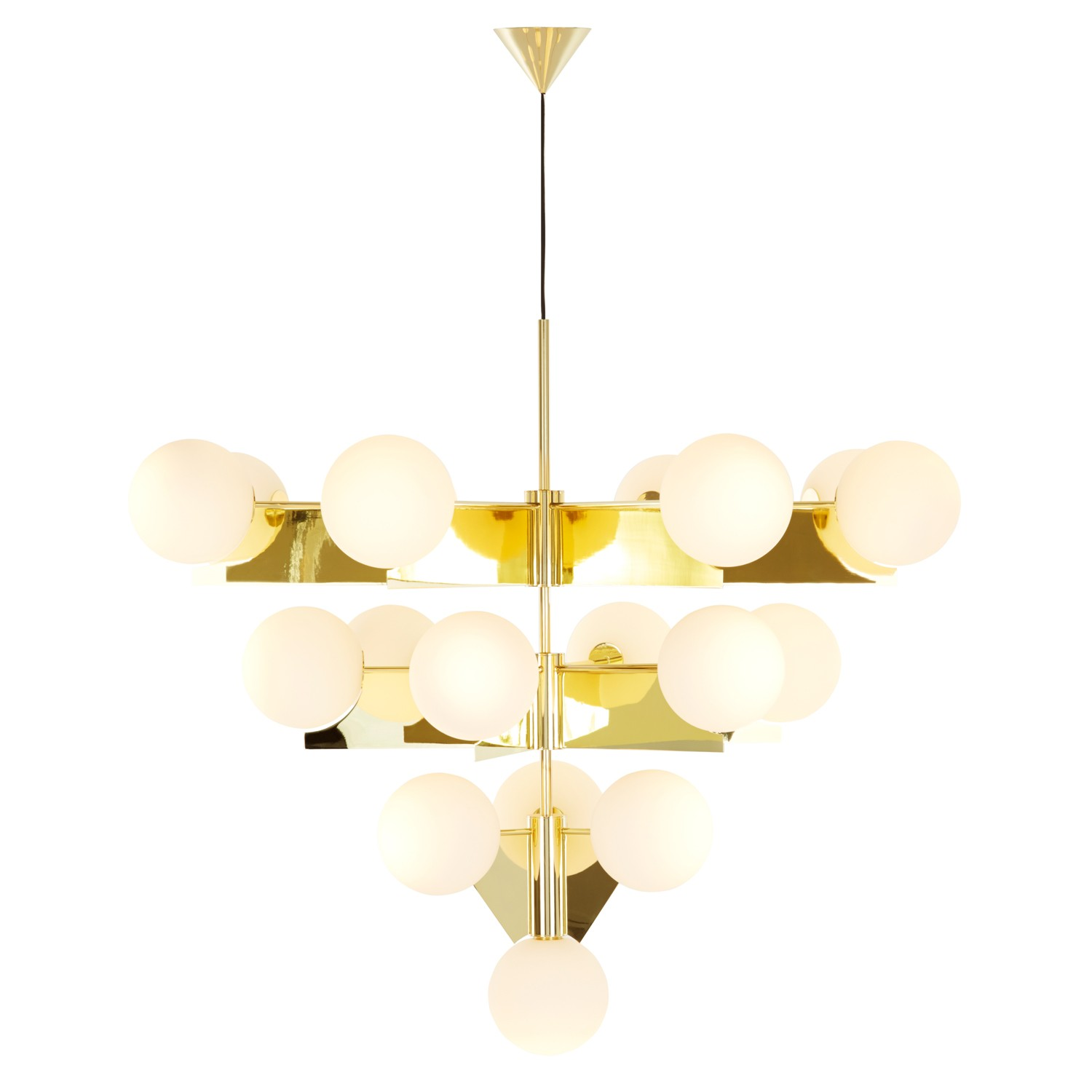 New tom dixon plane collection design necessities lighting - Spectacular modern pendant lighting fixtures as center of attention ...