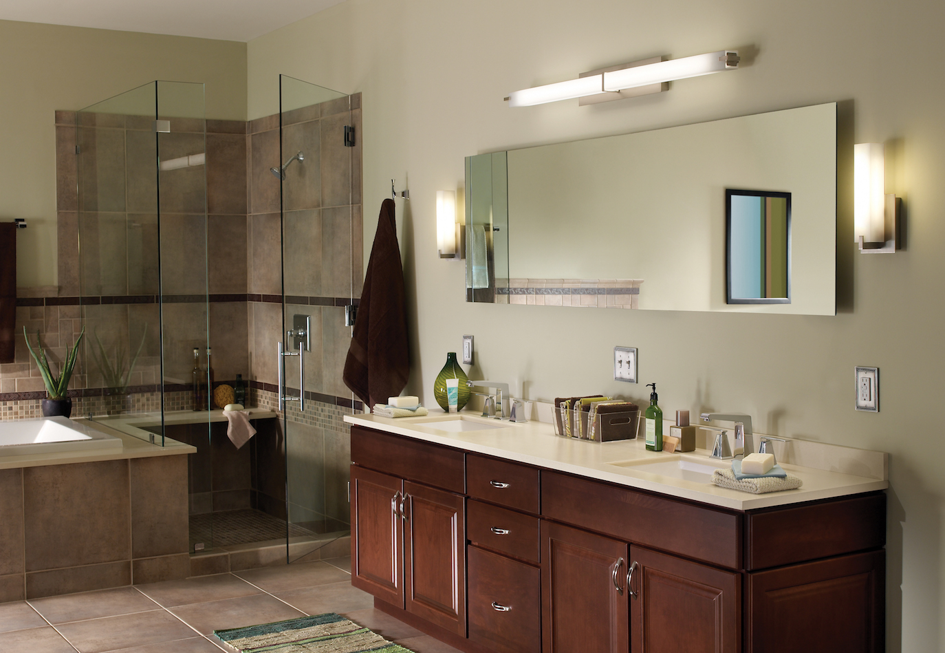 Modern bathroom vanity lighting - Modern Bathroom Lighting Buying Guide Ylighting