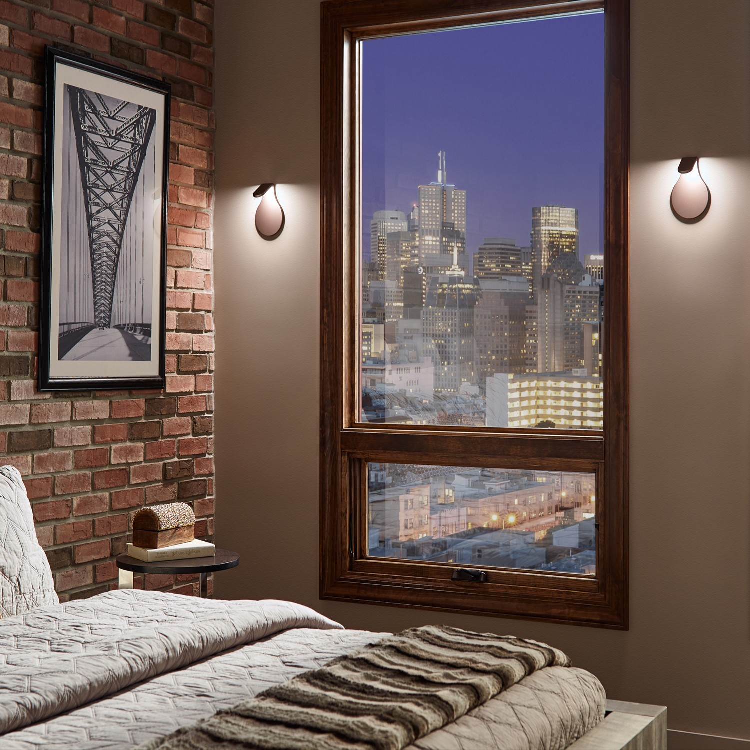 Wall Sconces By Bed : On Trend: Wall Sconces in the Bedroom Design Necessities Lighting