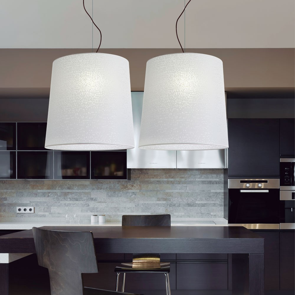 How to choose pendant lights for a kitchen island design oversized pendant lights ylighting aloadofball Gallery