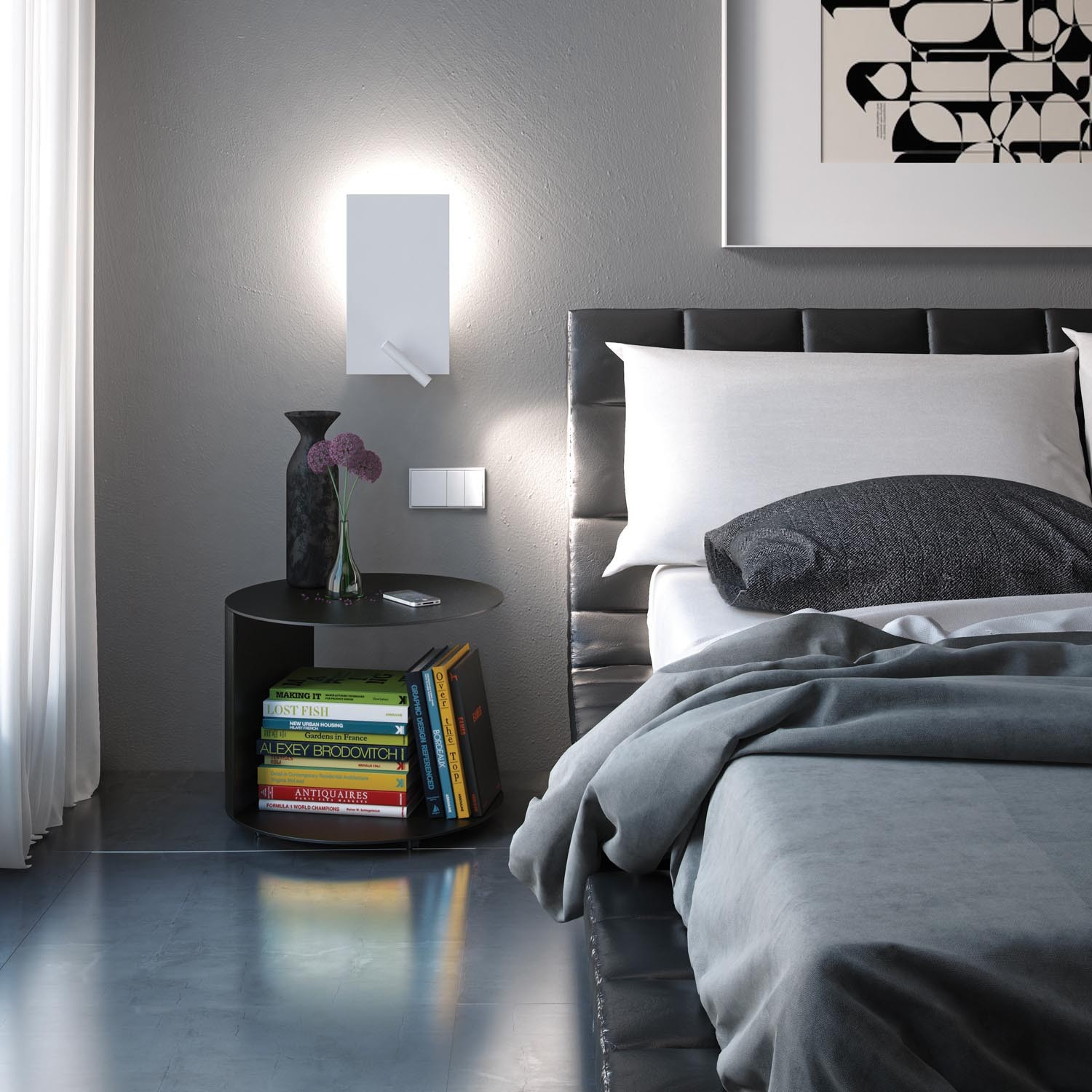 Contemporary Bedroom Wall Lights: On Trend: Wall Sconces In The Bedroom