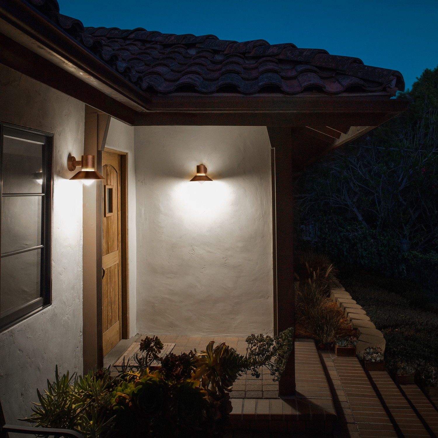 How to choose modern outdoor lighting design necessities - Exterior led lights for homes ...