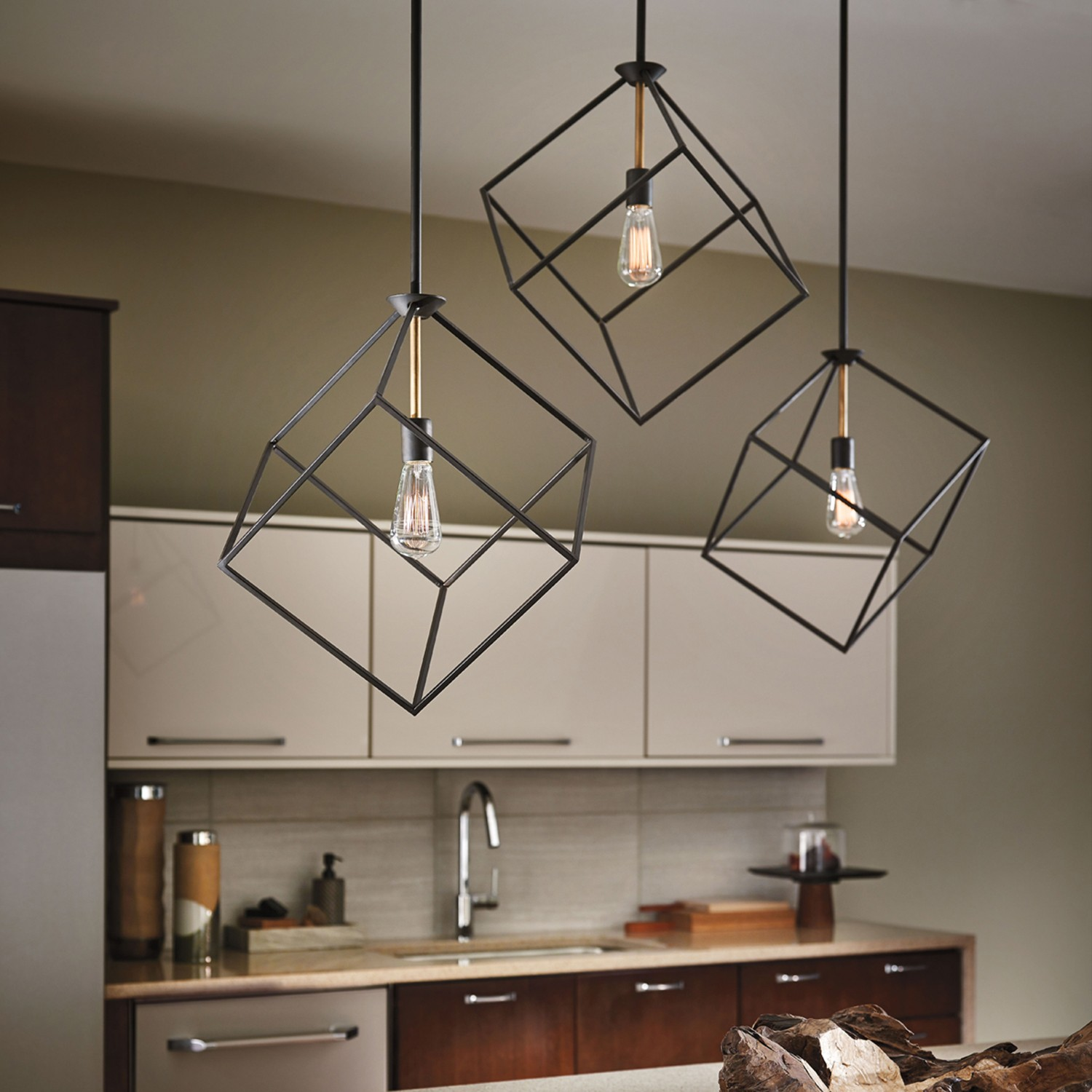 Introducing kichler modern lighting for Contemporary kitchen pendant lighting