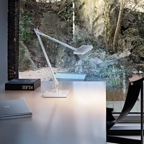Kelvin LED Green Mode Table Lamp By Antonio Citterio, from FLOS Lighting