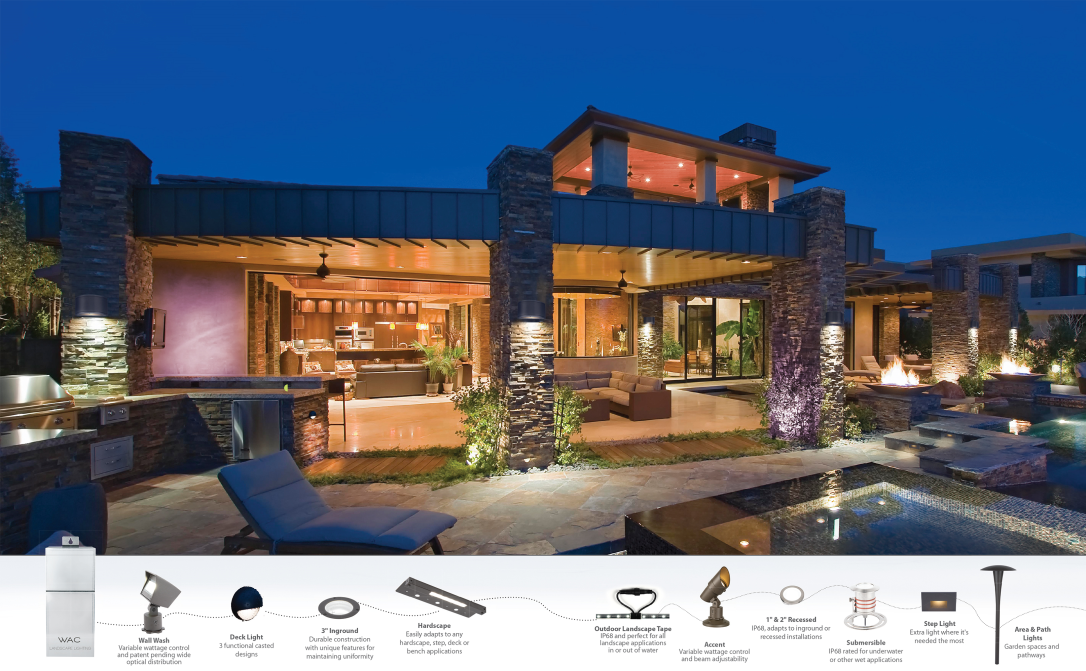 easy outdoor house lighting design. WAC Landscape Lighting  YLighting Design Your in 5 Easy Steps