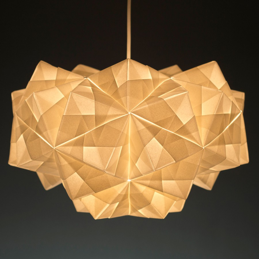 Paper lighting Chicken Wire Ylighting Modern Lighting Inspired By Origami