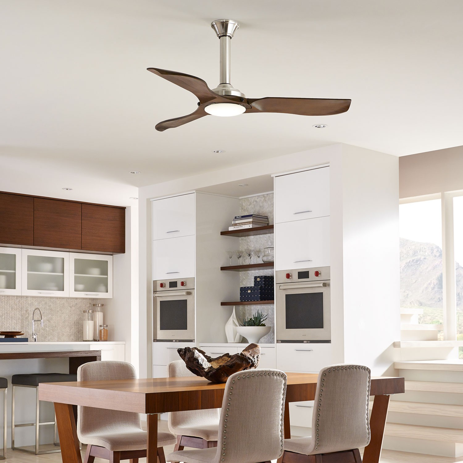 clarity max ceiling fan. modern led fans |ylighting clarity max ceiling fan c