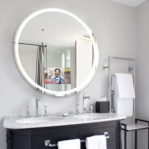 Eternity Lighted Mirror With Television From Electric