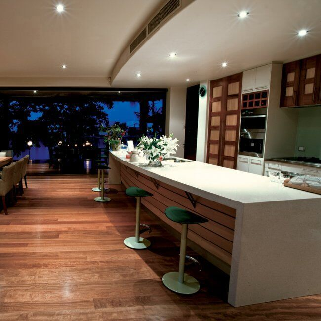 The ultimate recessed downlight idea guide - Kitchen led lighting design guidelines ...