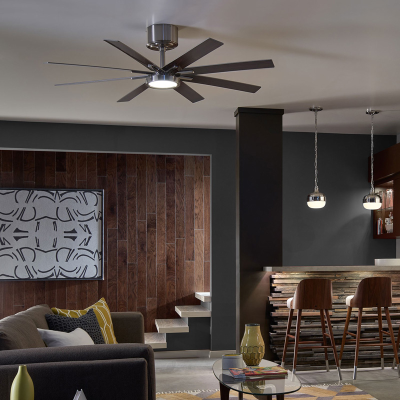 ceiling fan for living room. modern ceiling fans for every kind of space | design necessities lighting fan living room a