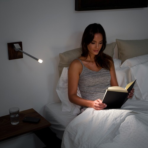 Libri LED Wall Sconce - Hardwired By Nick Sheridan, from Cerno | YLighting LED Bedside Lighting