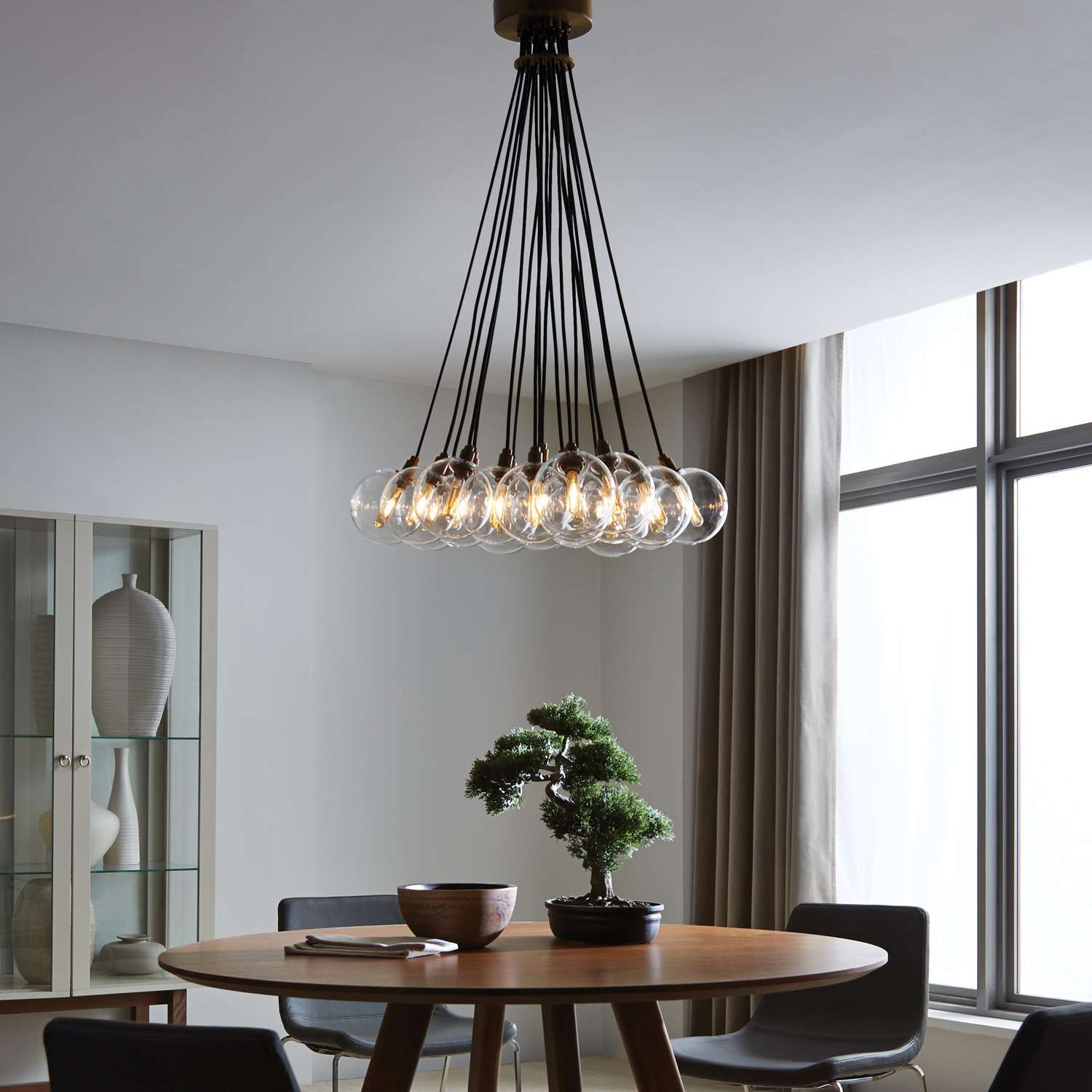 10 modern options for ambient lighting design necessities lighting gambit 19 lite led chandelier from tech lighting arubaitofo Image collections