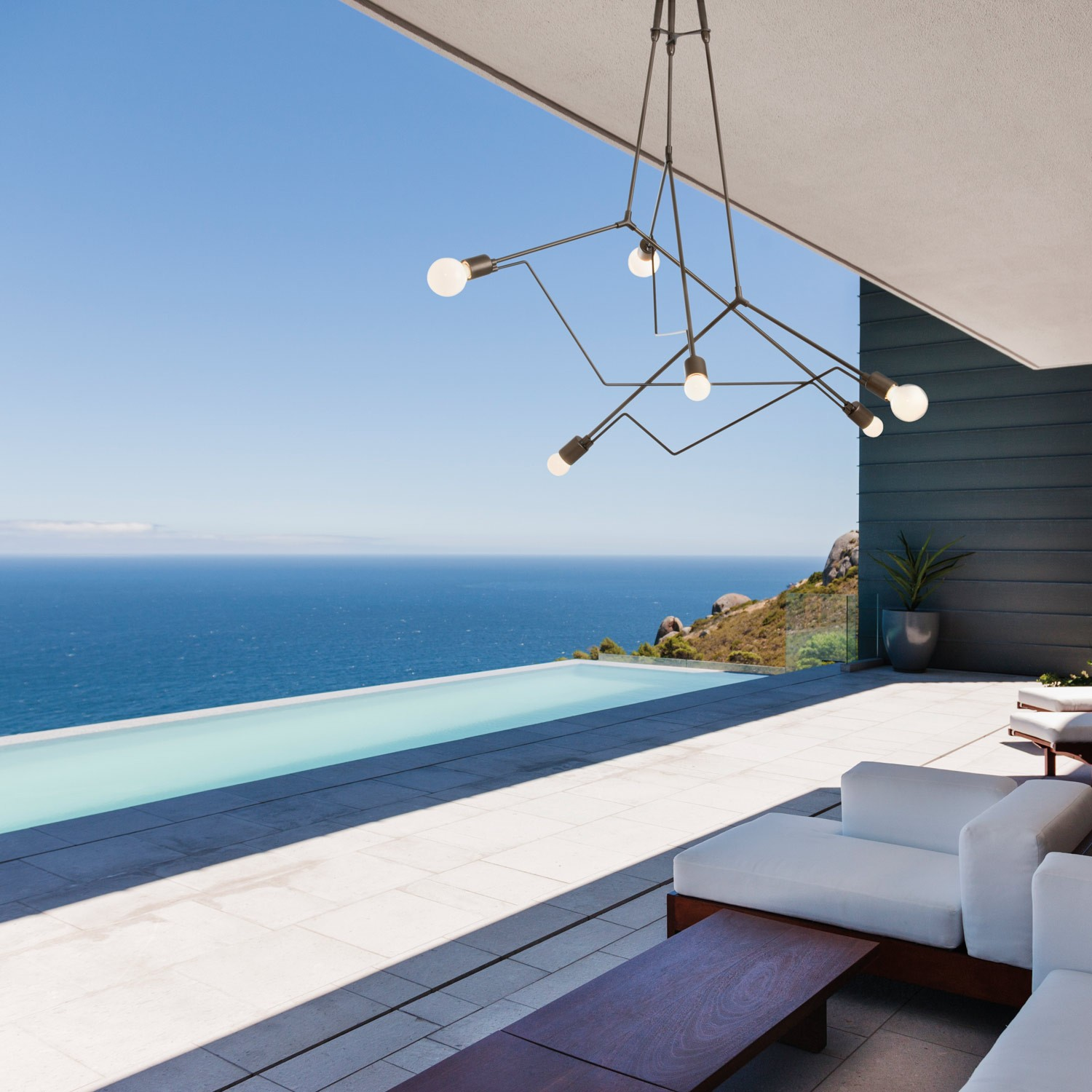 2016 Best Chandeliers | Hubbardton Forge Divergence Outdoor Pendant Light |YLighting