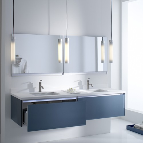 Bathroom Lighting Ideas Uplift Pendant Light From Robern Ylighting