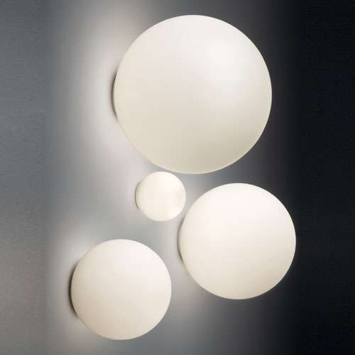 Dioscuri Indoor/Outdoor Wall Sconce By Artemide