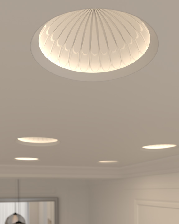 element by tech lighting. element reflections bloom 12 inch dome trim by tech lighting element i