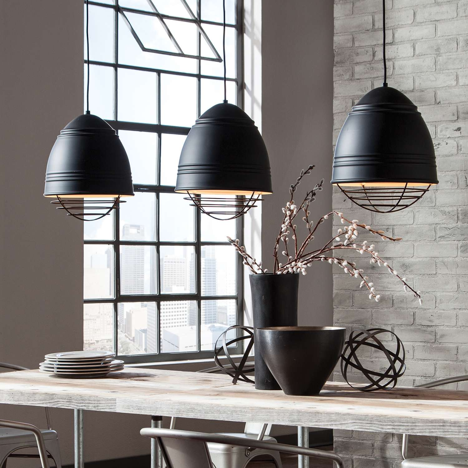 multiple pendant lighting fixtures. Loft Grande Pendant Light By LBL Lighting Multiple Fixtures