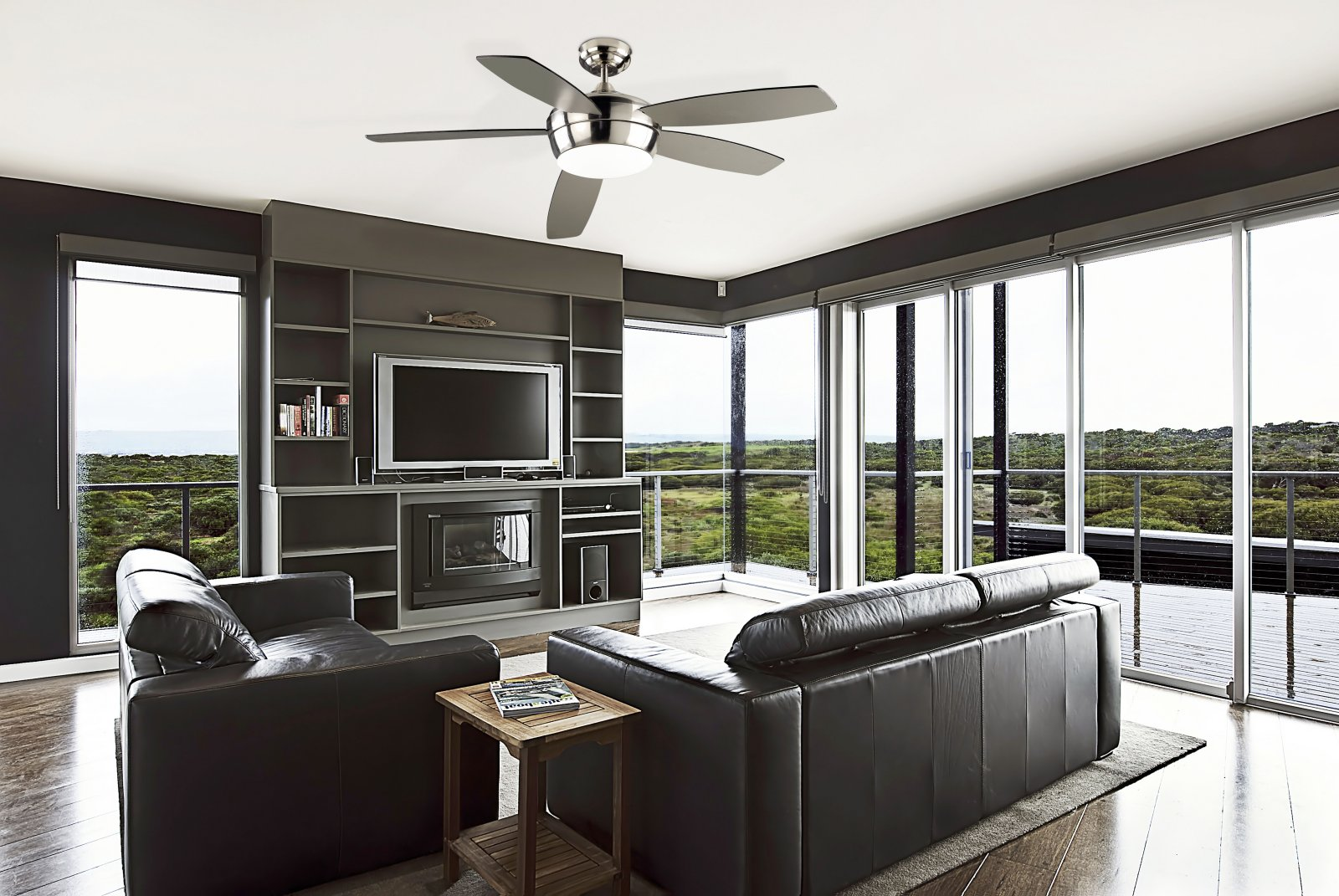Ask An Expert What Kind Of Fan Is Best For My Space Design - Ceiling fan for living room