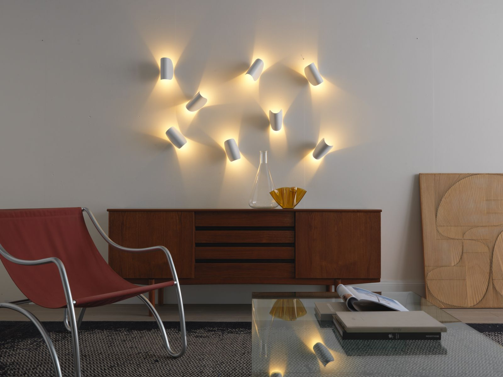 accent wall lighting. IO LED Wall Light From FontanaArte Accent Lighting