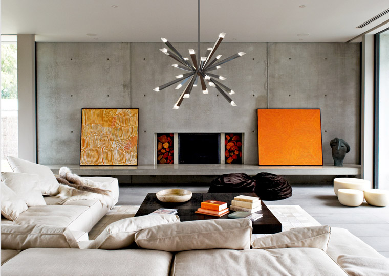 living room lighting guide. Starburst LED Chandelier By Stephen Blackman, From Blackjack Lighting Living Room Guide