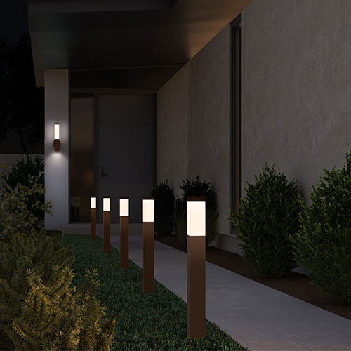 Ideas For Lighting A Modern Front Yard Ylighting Ideas