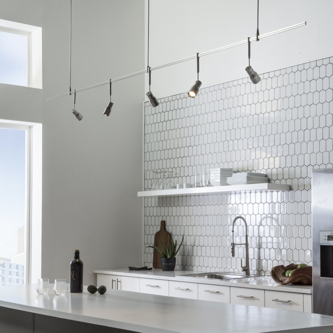 20 Kitchen Track Lighting Ideas To Get Your Cooking On Track