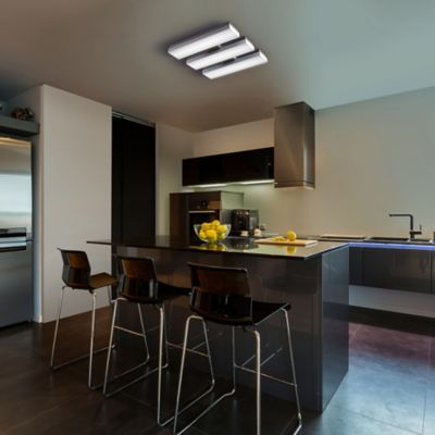 Cloud3 LED Flush Mount for small kitchen lighting