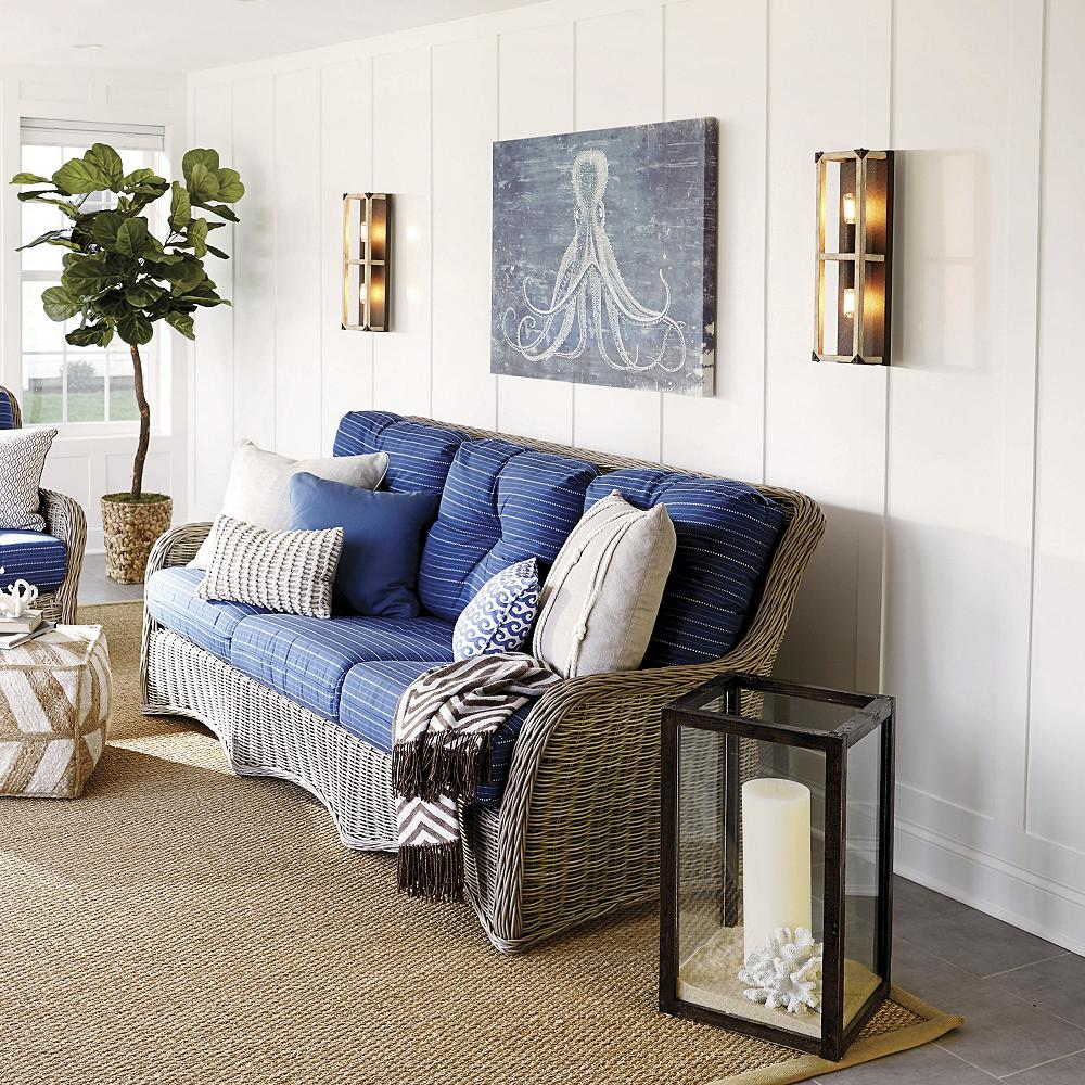 low ceiling living room wall sconces
