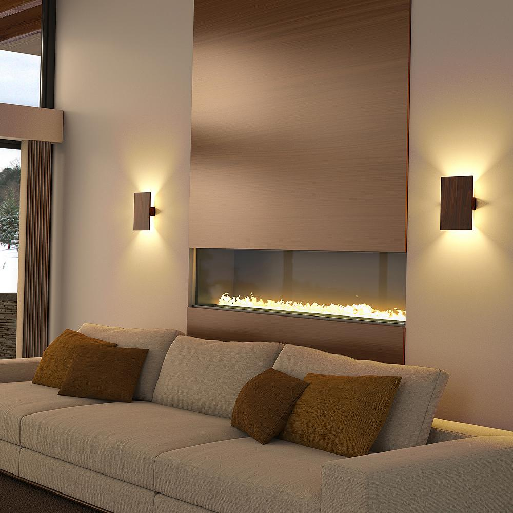 LED wall sconces for the living room