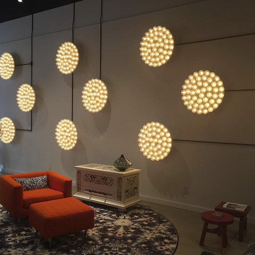 Prop Light Round Wall Sconces