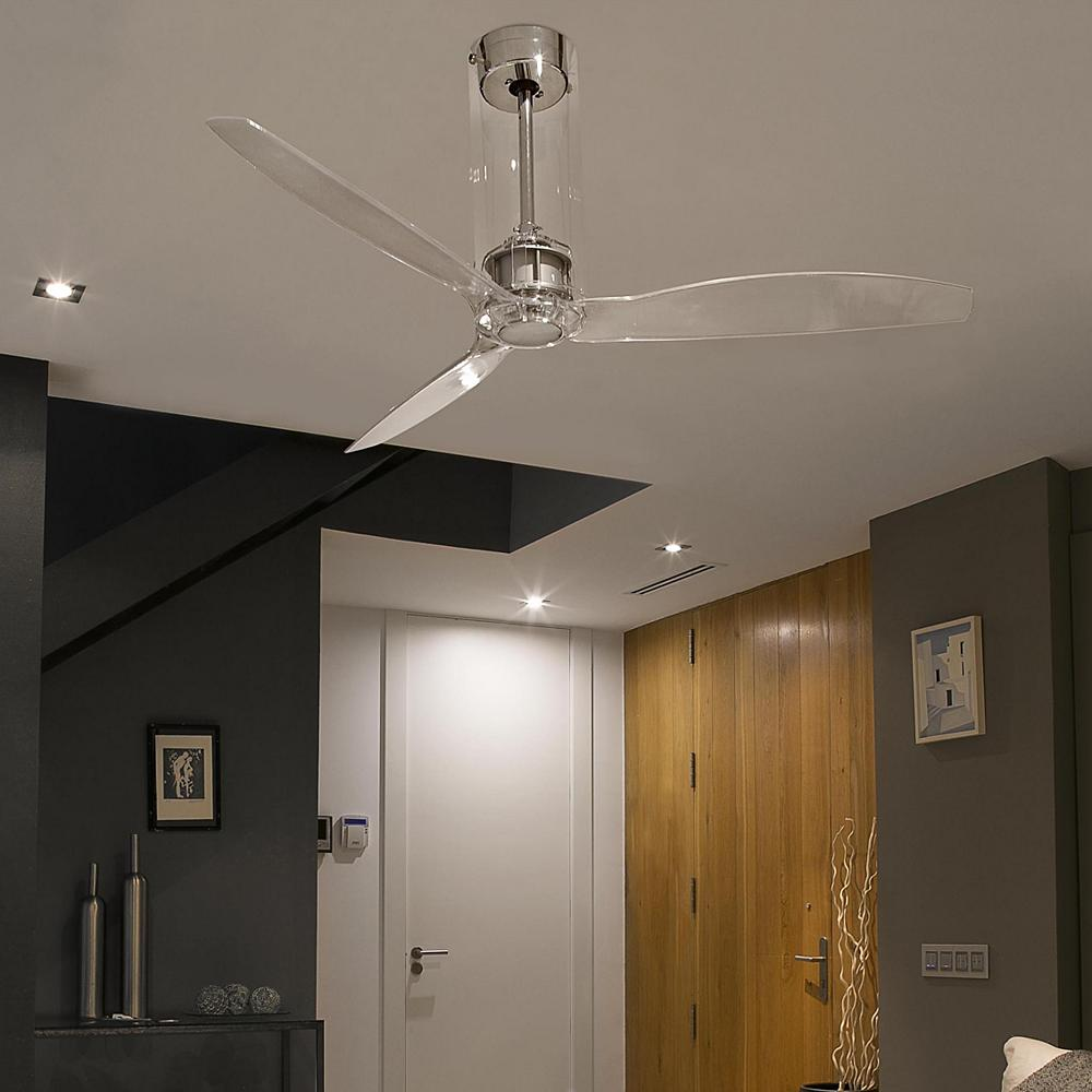 clear tube ceiling fans.