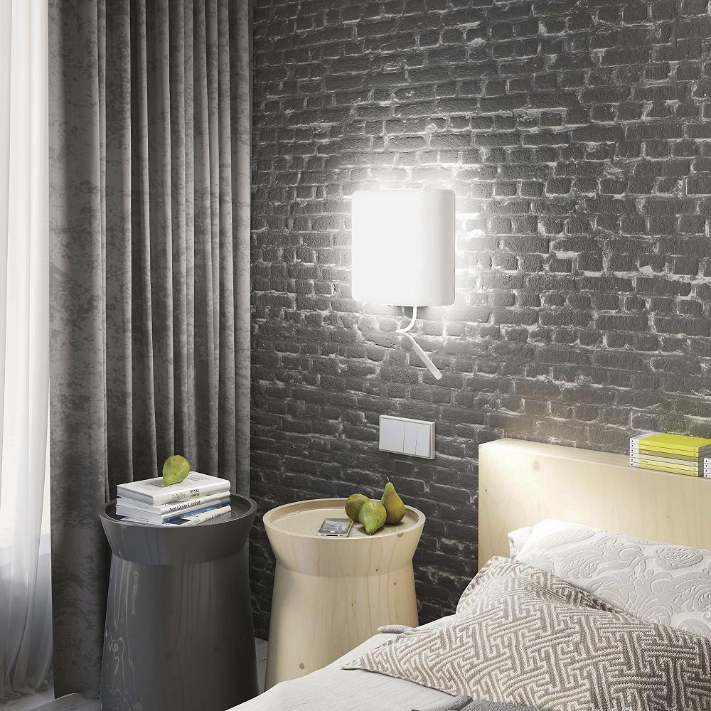 bedroom square wall sconces