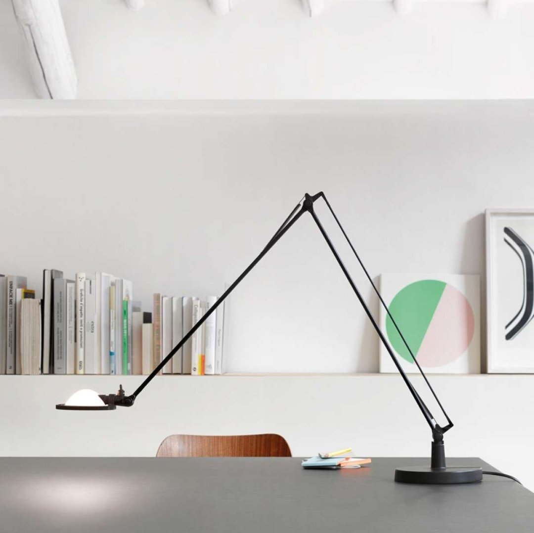 swing arm led desk lamps