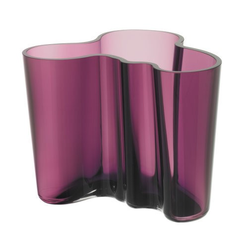 Jewel-toned pink vase.