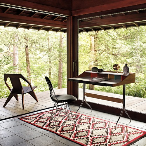 modern outdoor lounge and dining chair.