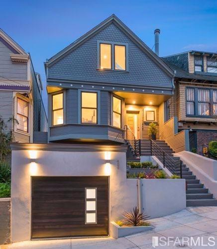 Modern Victorian Remodel Before After Ylighting Ideas