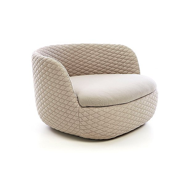 Modern and comfy lounge chair.