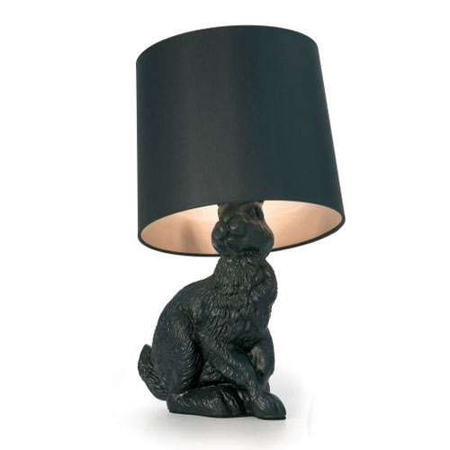 modern rabbit table lamp.