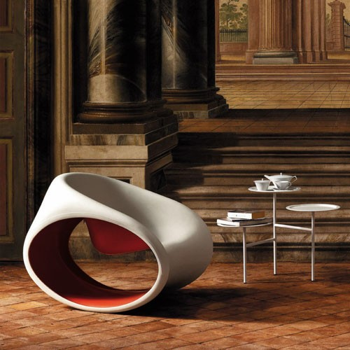 modern and contemporary rocking chair.