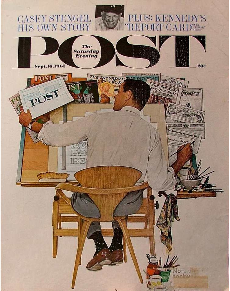 evening post featuring Norman Cherner.